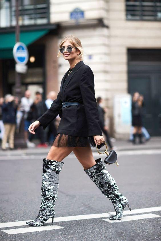 bottes-paillettes-look-mode-femme