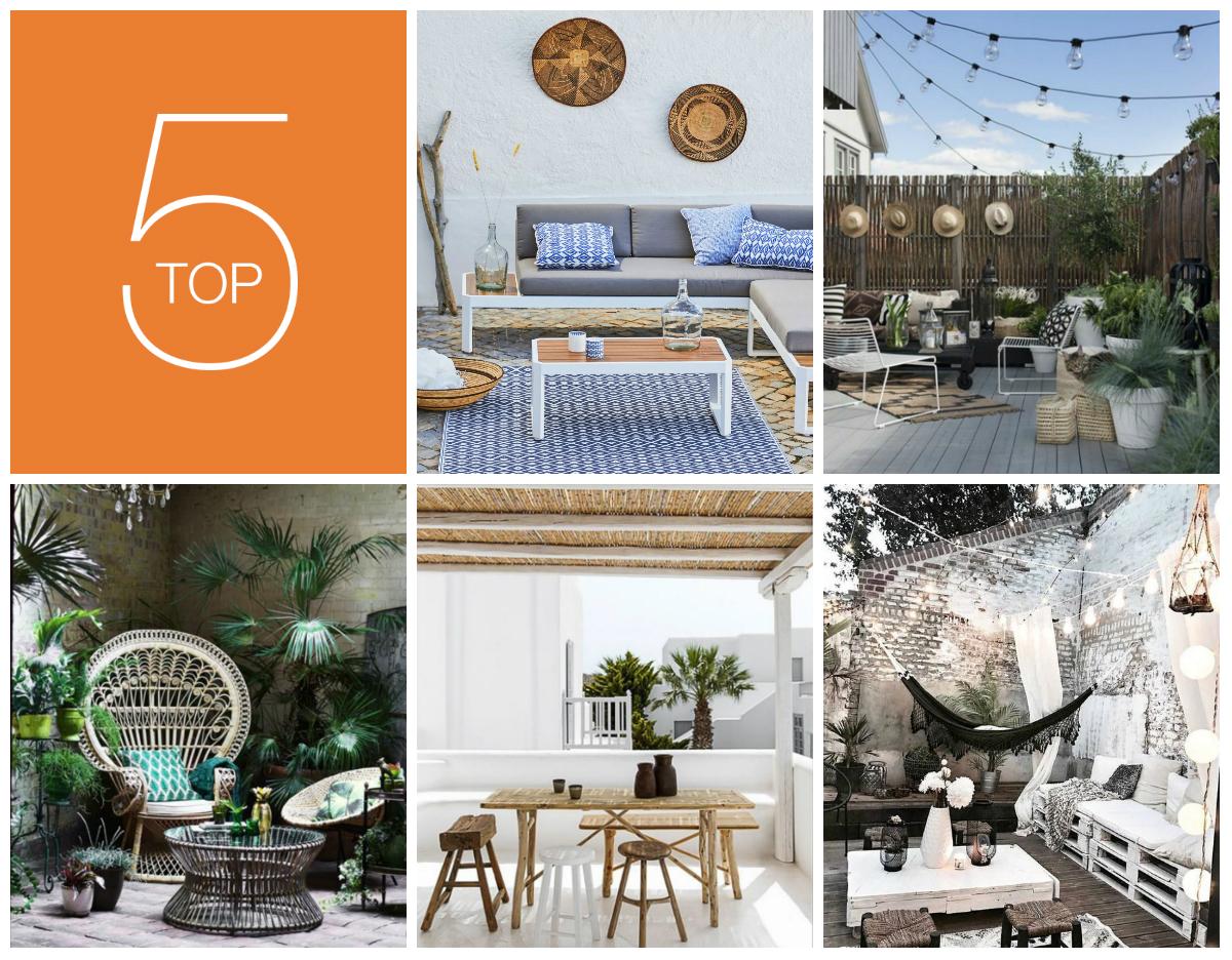 Déco : 5 terrasses extérieures stylées pour vous inspirer ...