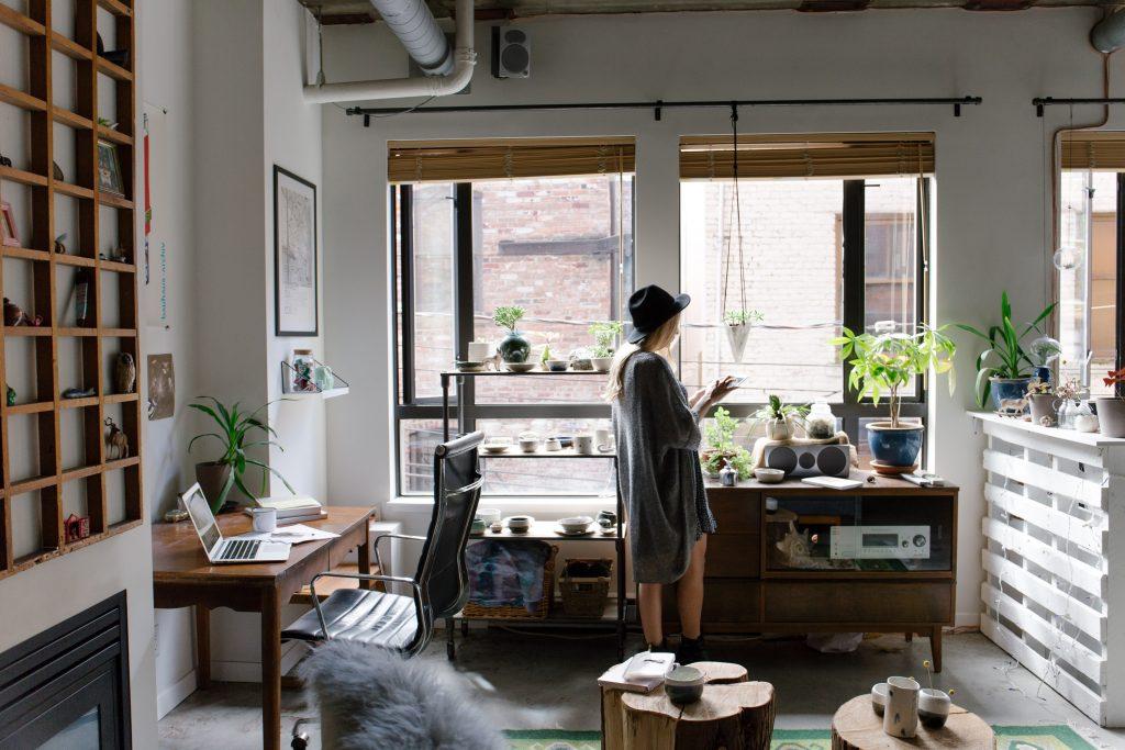 Un appartement petit mais bine amménagé