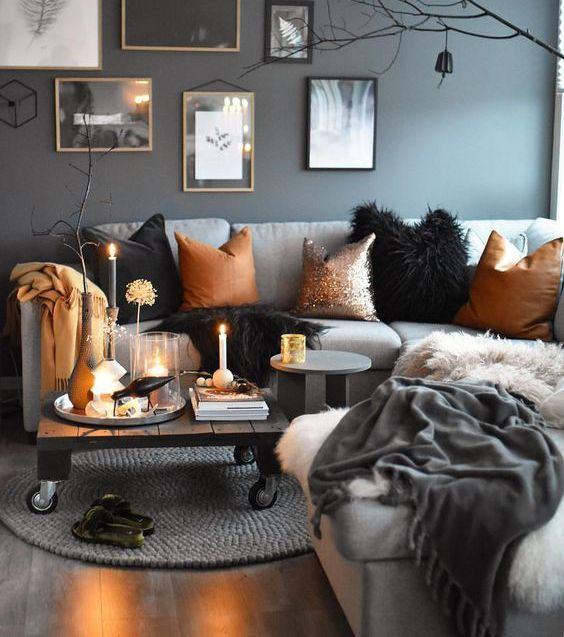 decoration-salon-cocooning-bougies-coussins-canapé-déco